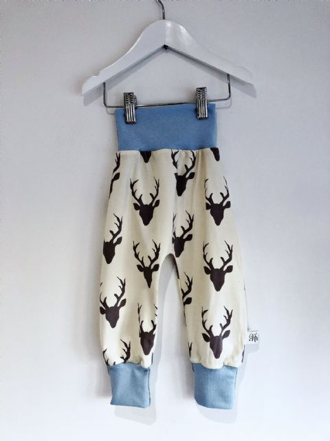 Huxley Pants Cream Stag - In Stock 18-24 months
